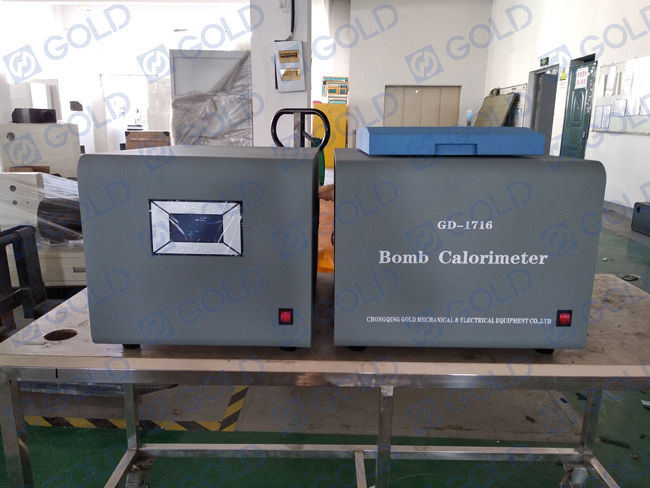 EN ISO 1716 Bomb Calorimeter for building Products- Determination of the heat of combustion
